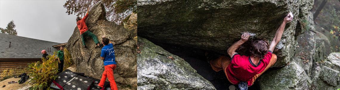 bouldering alla Sbarua