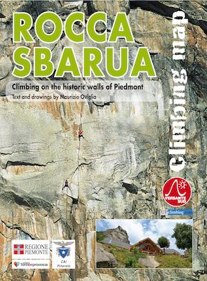 Carta degli itinerari di arrampicata