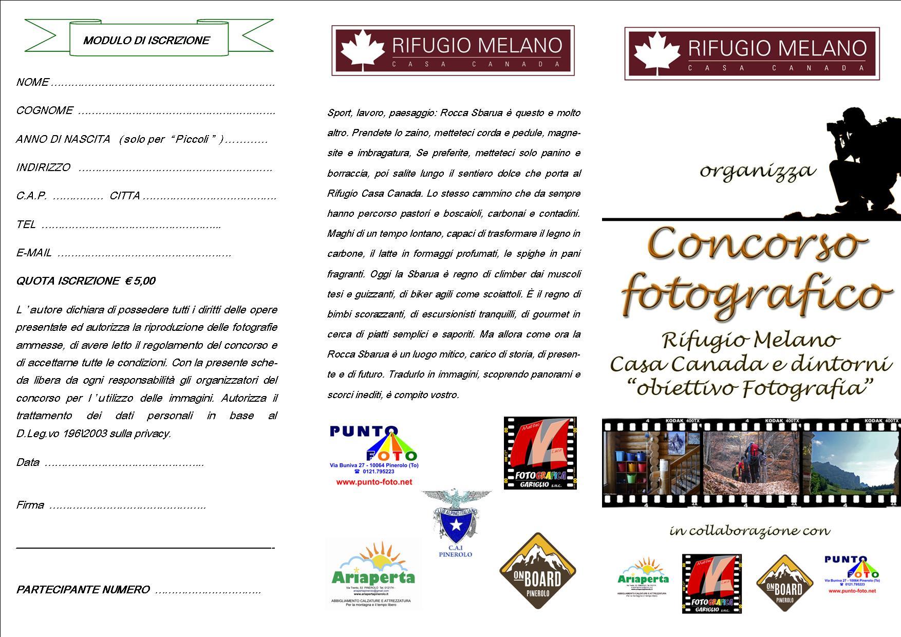 pieghevole concorso fotografico casa canada 2014